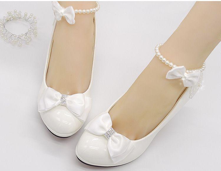aliexpress: comprar zapatos de boda blanco como la leche luz de
