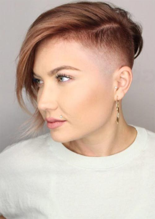 Rad Short Undercut Hairstyles 2018 for Women , Fashionre