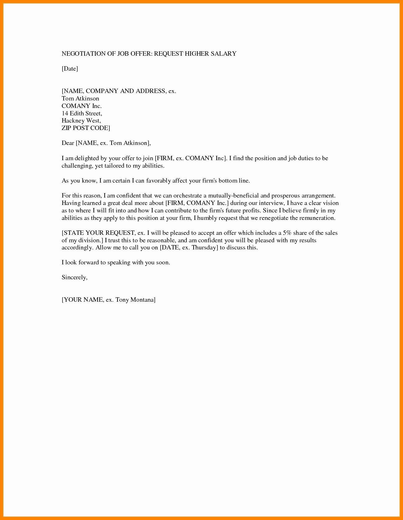 Counter Offer Letter Template Fresh 5 Counter Offer Letter Samples Letter Templates Lettering Job Letter