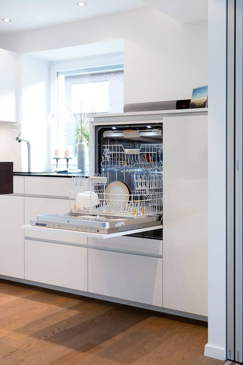 Geschirrspüler hochgebaut moderne küchen von klocke möbelwerkstätte gmbh modern | homify