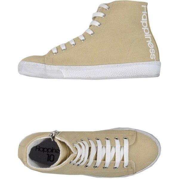 Happiness Sneakers ($36) ❤ liked on Polyvore featuring shoes, sneakers, beige, round cap, zipper sneakers, beige sneakers, beige shoes and zip shoes