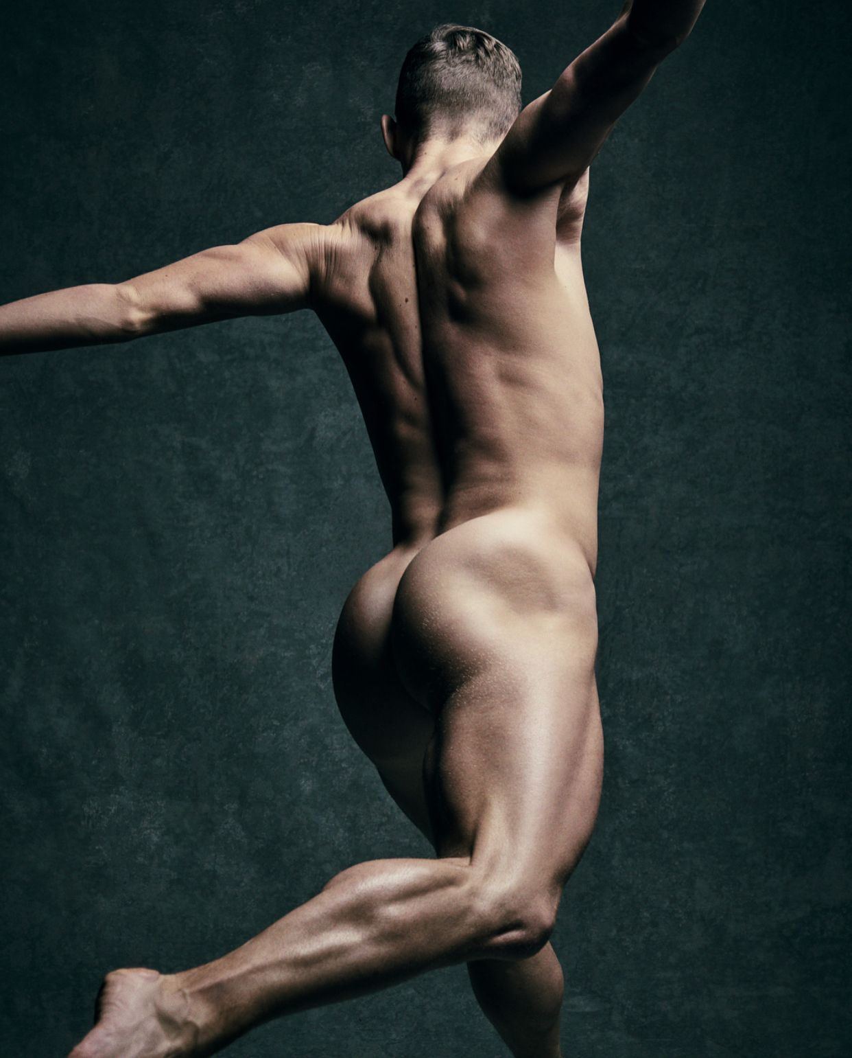 Adam Rippon Skates Nude For Espn The Magazine's Body Issue