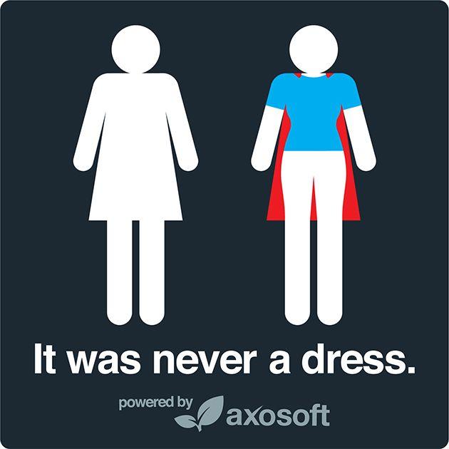 Es war nie ein Kleid Axosoft2