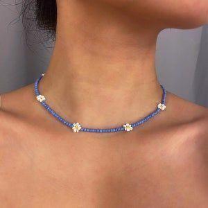 Böhmische mehrfarbige Perlen LOVE Choker Halskette geschichtet | Etsy #schmuckdesign