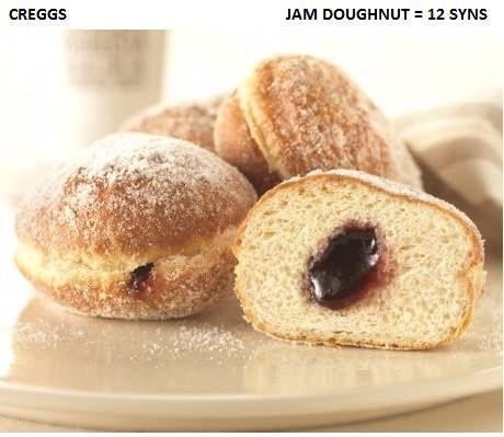 Greggs Jam Doughnut 😛 Slimming World Syns Slimming