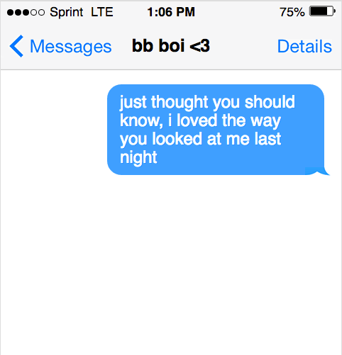 Sexy texts to send your boyfriend