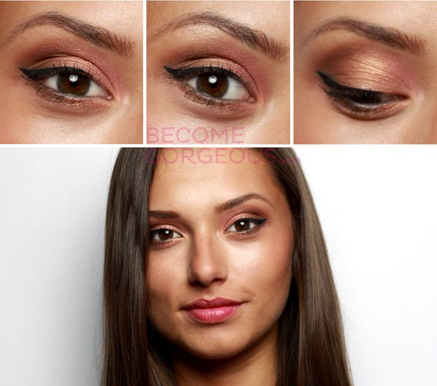 Glam Hazel Eyes Makeup Tutorial - Video - Bring out your ...