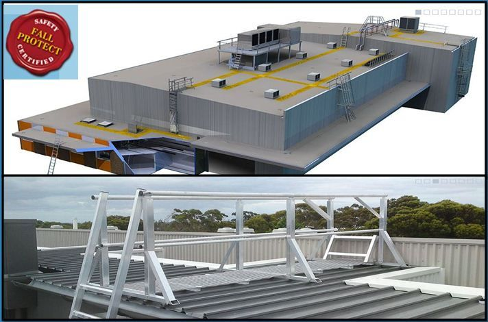 Fall Protect Pride On Delivering Manageable Safe And Cost Effective Roof Access Ladders That Comply Wi Fall Arrest System Roof Installation Roof Access Ladder
