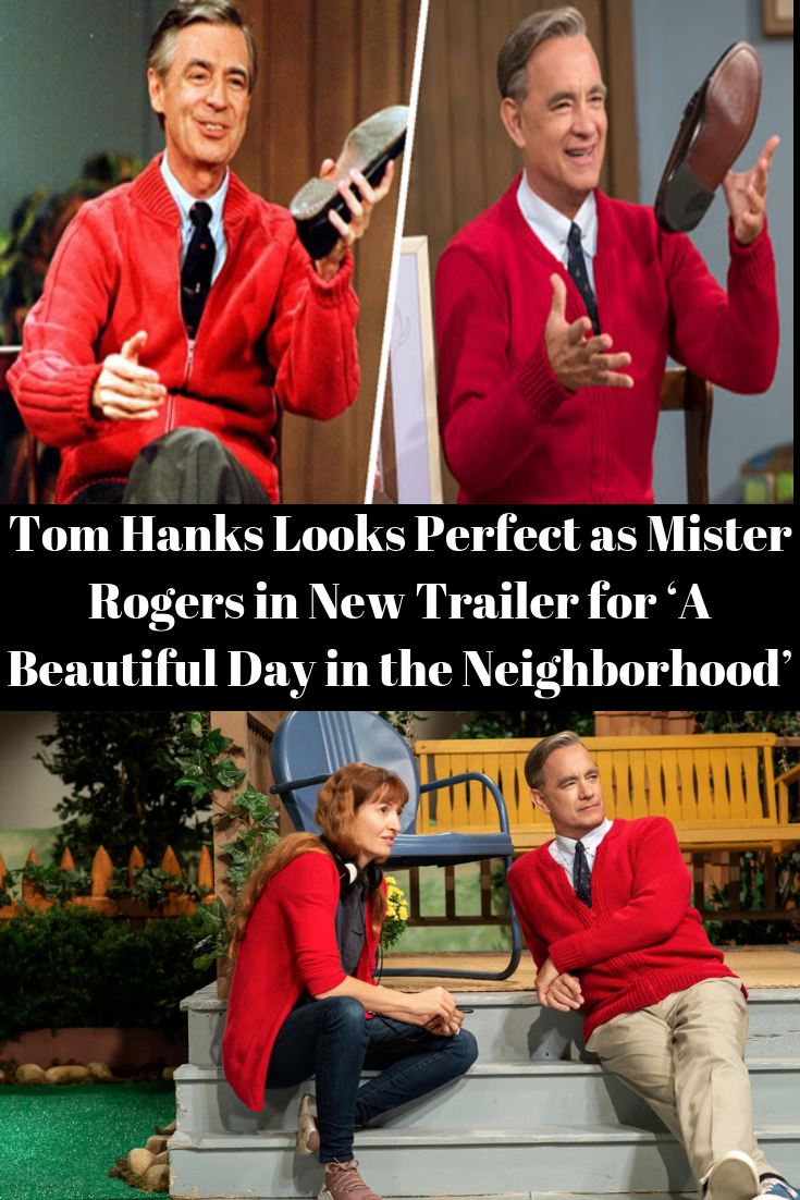 Tom Hanks Looks Perfect as Mister Rogers in New Trailer for