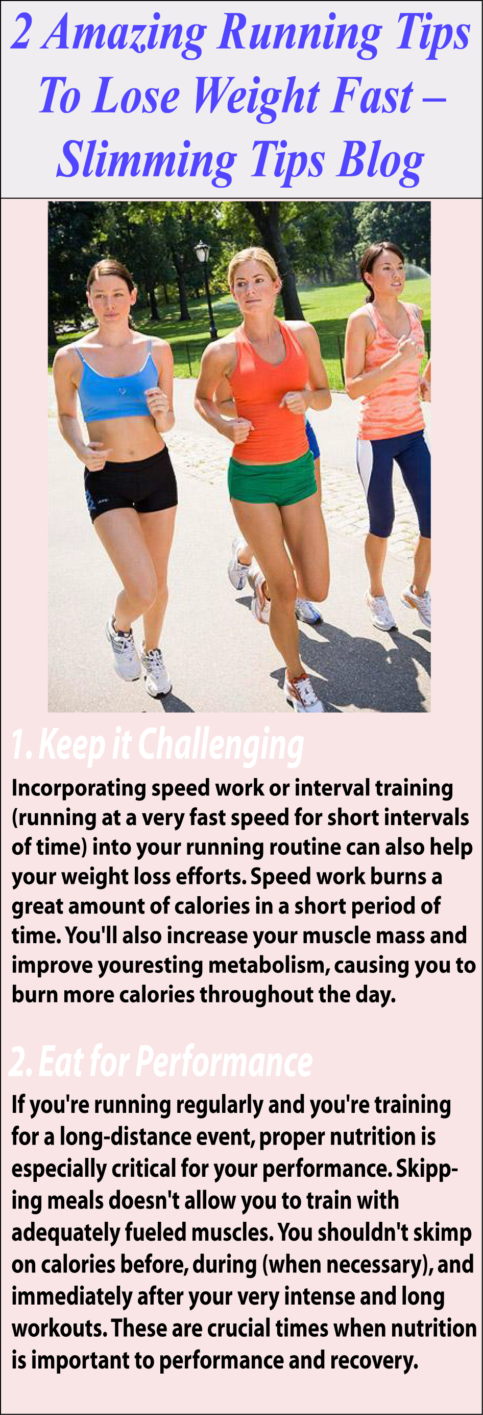 Running Is Great Cardio Exercise, If You Want To Lose Weight Fast Running  Is The