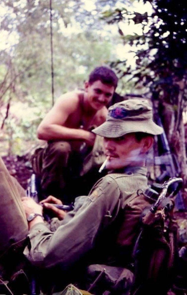 3RAR soldiers rest, 1971.