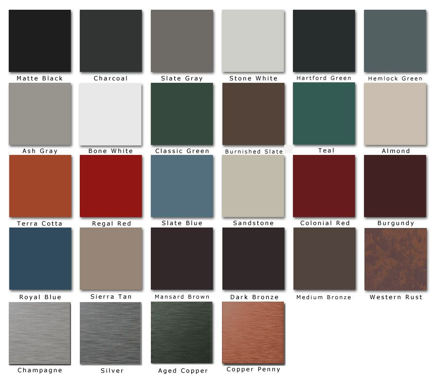 Best Metal Barn Roofing Colors Standing Seam Roofing Color 640 x 480