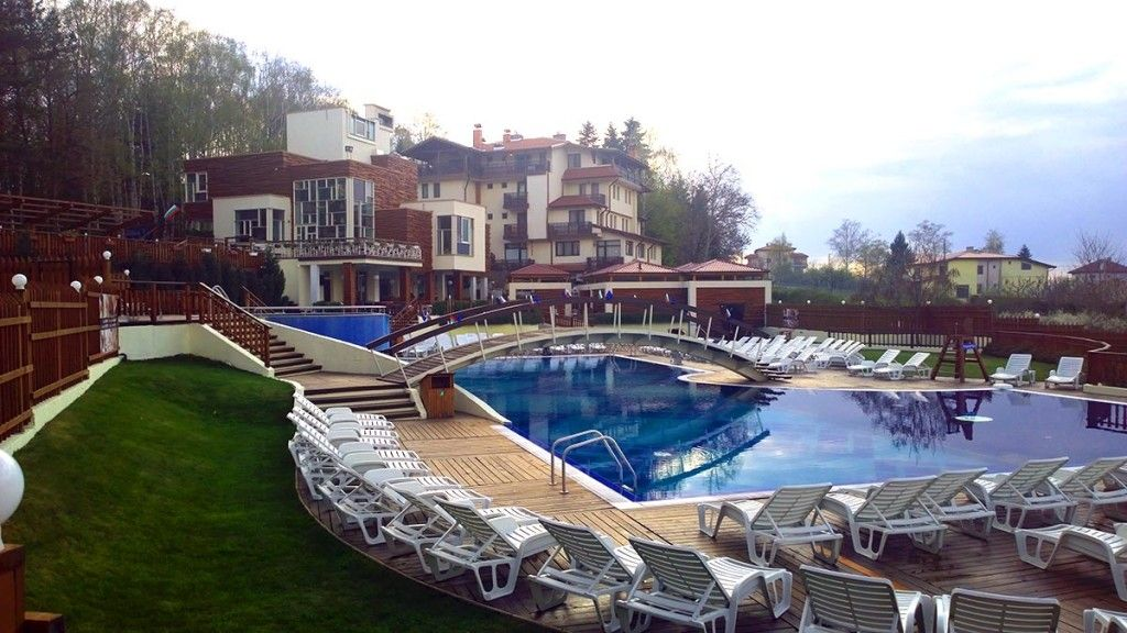 Mineral Water Swimming Pools In Sapareva Banya Outdoors