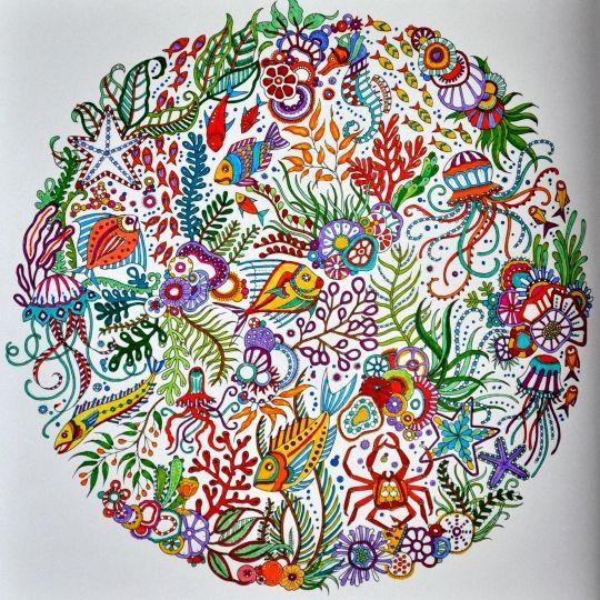 Tag Photo Coloring Books Colouring Johanna Basford Perdido Mandala Vintage Pages Mandalas