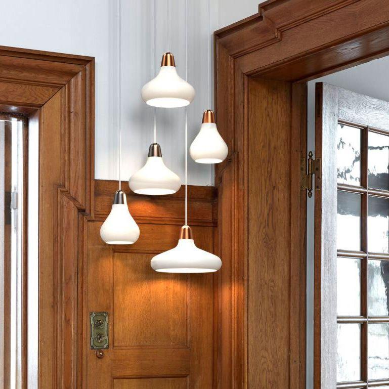 Milton Lighting Wood Pendant Light Rustic Bathroom Lighting