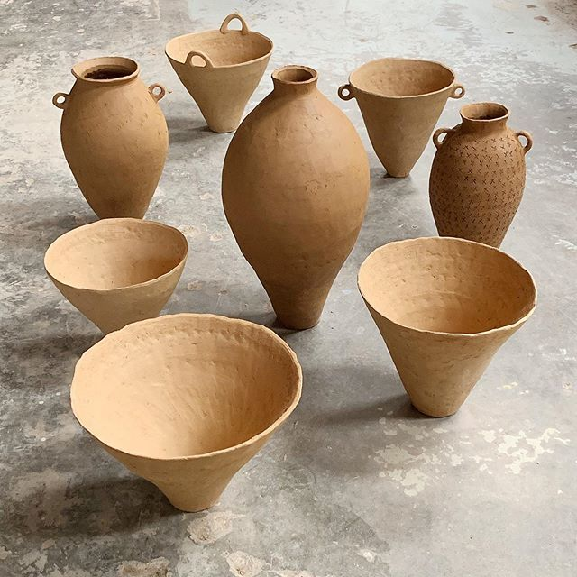 """The thing about coil pots is they have a mind of their own. They don't look """"right"""" until they are completed and they aren't completed…"""