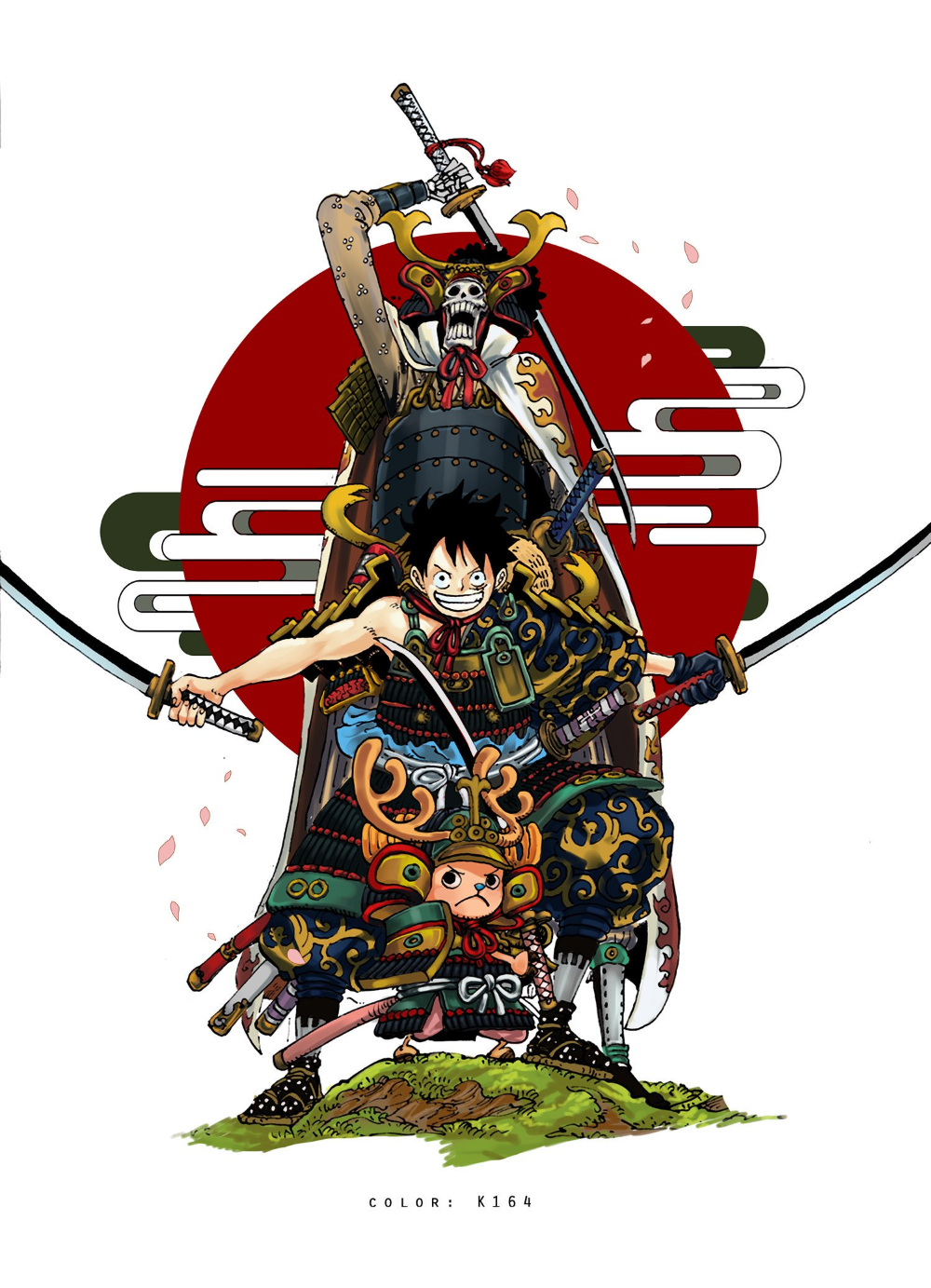 One Piece Wano Kuni Mugiwaras Samurais In 2020 One Piece Wallpaper Iphone Manga Anime One Piece One Piece Comic