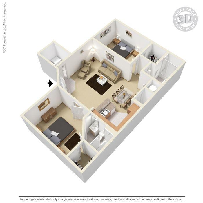 Leander, TX Lakeline Apartments Floor Plans | Apartments in Leander, TX - Floor Plans