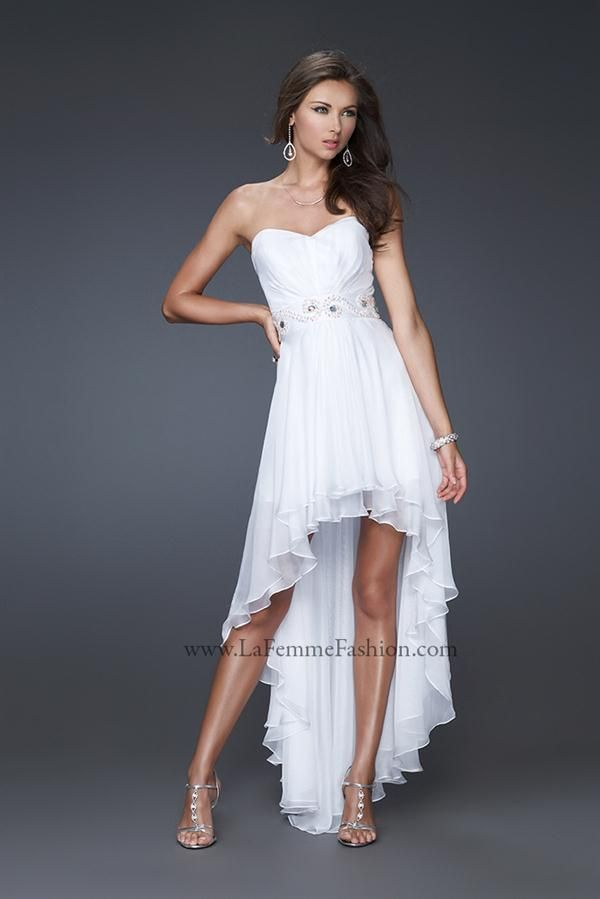 Images of Flowy White Dress - Reikian