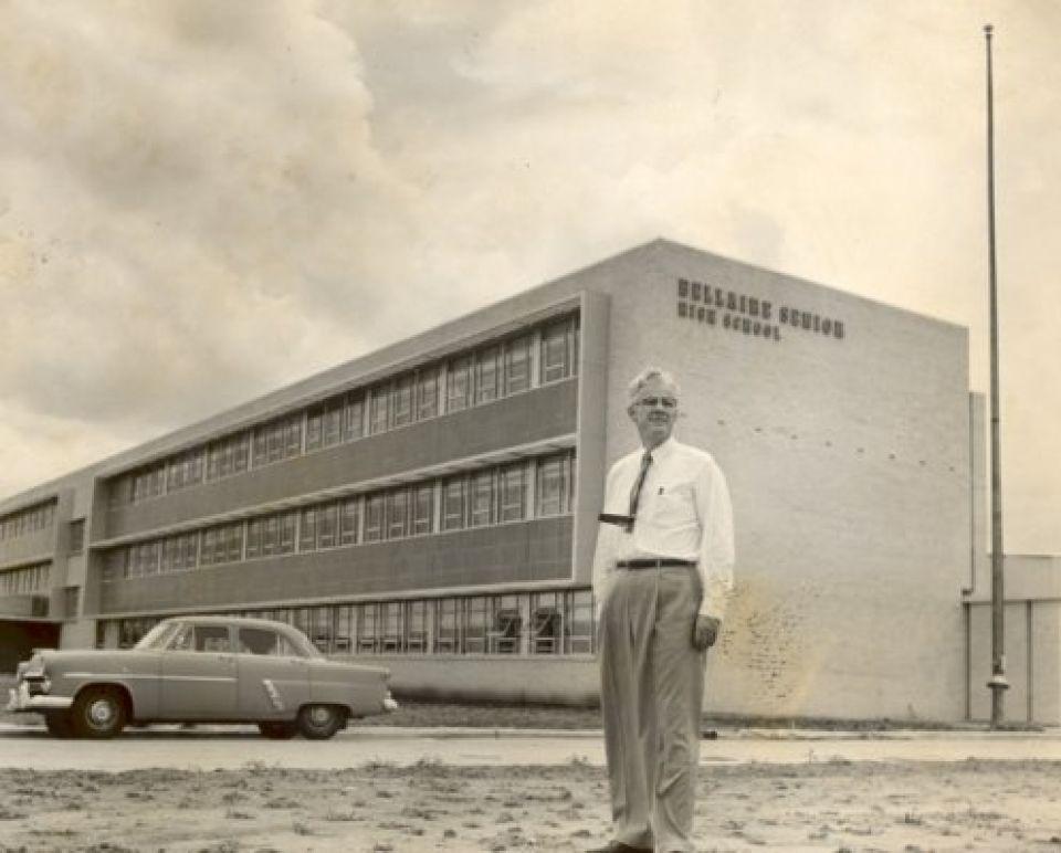 Bellaire High School Principal Harlan Andrews August