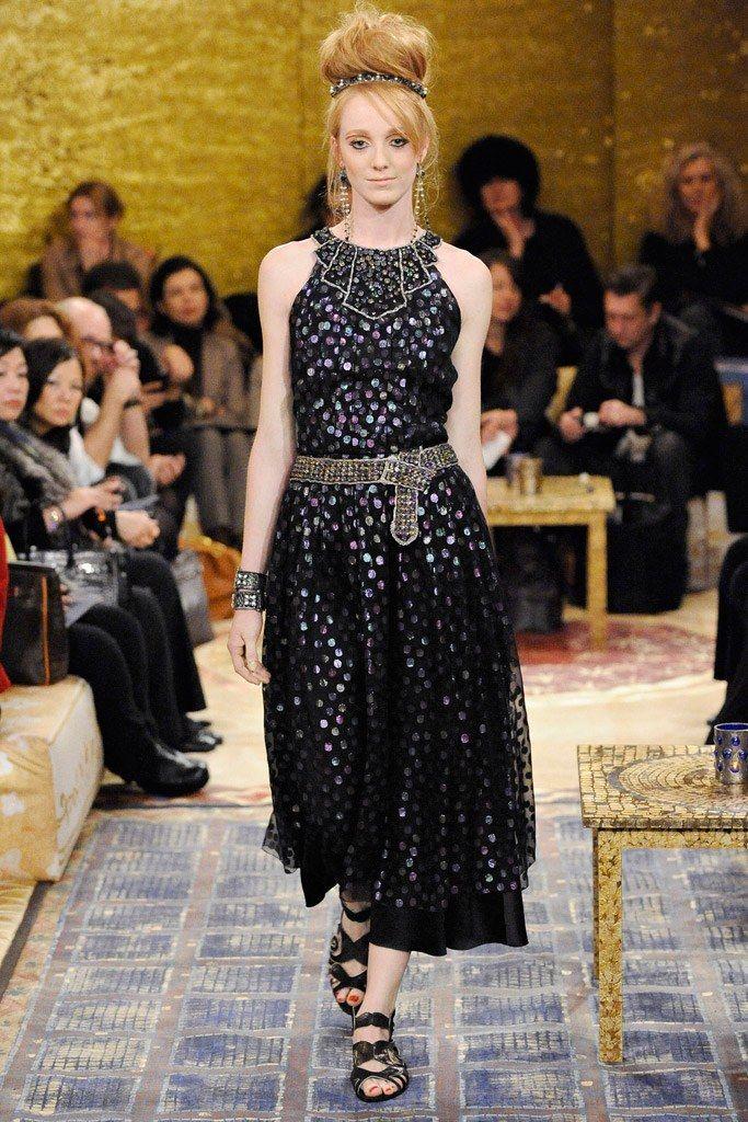 Chanel Pre-Fall 2011 Fashion Show - Sofie Roelens