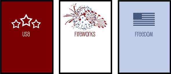 Free Printable 4th of July Posters