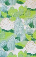 Tyg Trädgård - Grön
