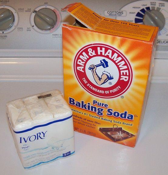 2 Ingredient Cloth Diaper Detergent Bar Soap Baking Soda