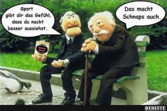 Sport Gibt Dir Das Gefuhl Die Muppets Lustige Bilder Witzige Bilder Spruche