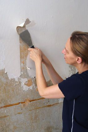 The Fun Project Of Removing Wallpaper Removable Wallpaper Wallpaper Painting Wallpaper