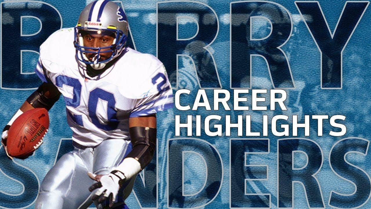 Barry Sanders UNREAL Career Highlights NFL Legends