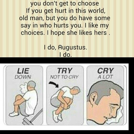 Lie down, try not to cry, cry a lot. I just finished TFiOS... O   M    G ..