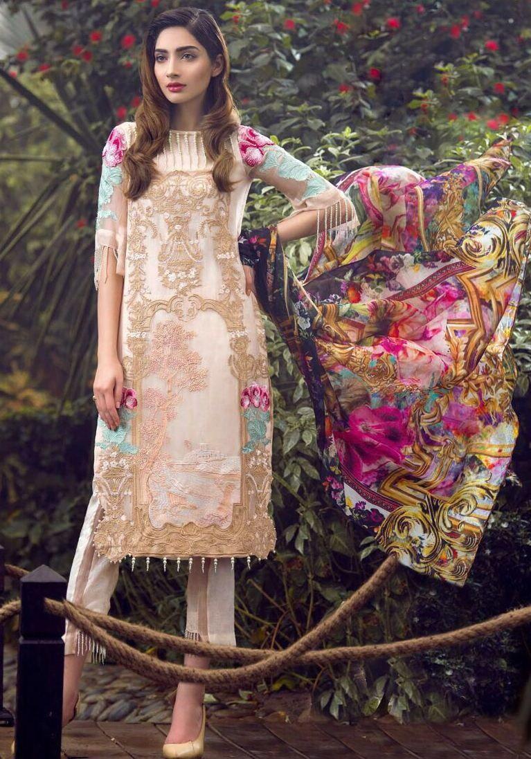 3d1c4b772c Fepic Rosemeen Pride Faux Georgette Suits (4 pc catalog)   Wholesale ...
