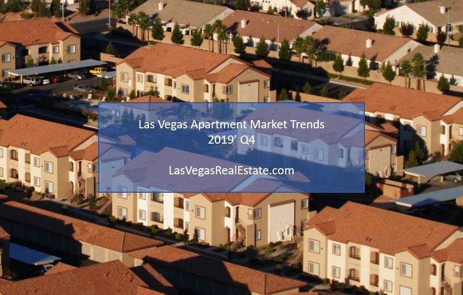 Las Vegas Apartment Market Trends 2019 Q4 The Lied Institute For