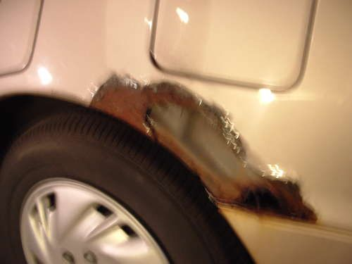 How To Fix Rust Around Your Wheel Wells With Images Auto Body
