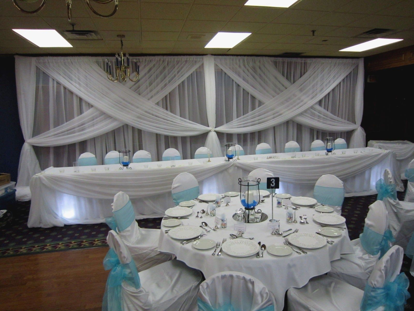 Baby Blue And Silver Wedding Theme White Wedding Decorations Baby Blue Weddings Blue Themed Wedding