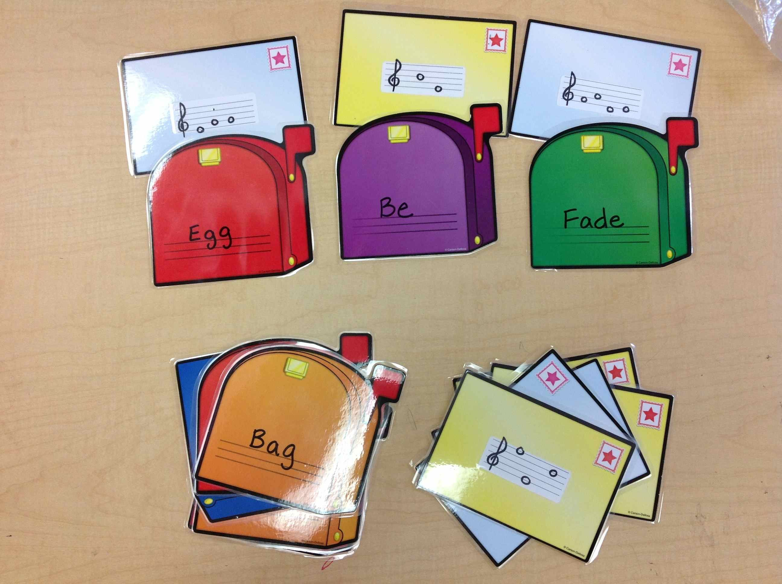 Fabulous Center Ideas! Lots of matching Lessons/Games covering