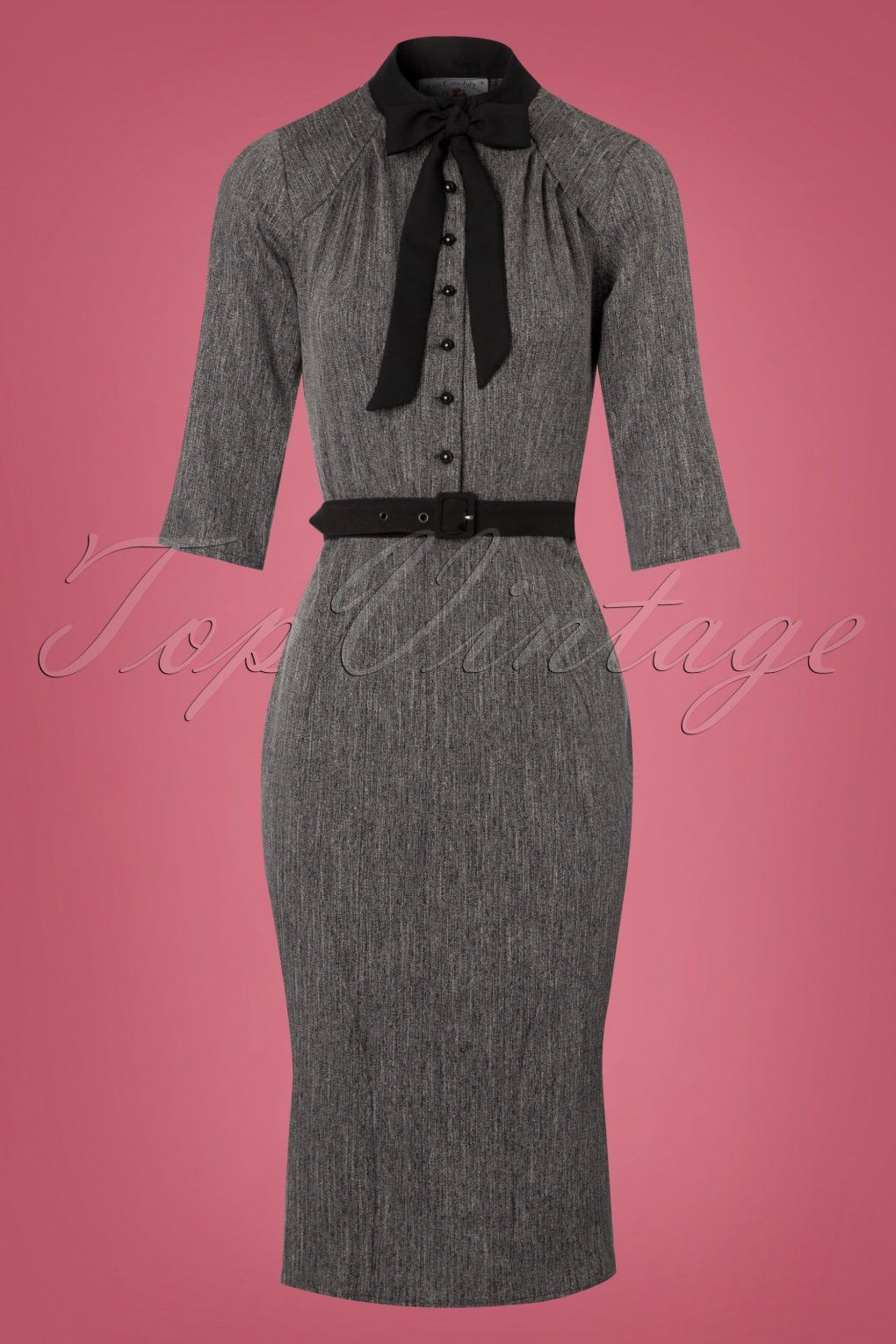 Celebrate Your Femininity In This 40s Gina Pencil Dress Grey Magenta Blazer Is A Sophisticated Classy Inspired Killer That Works For Day At The