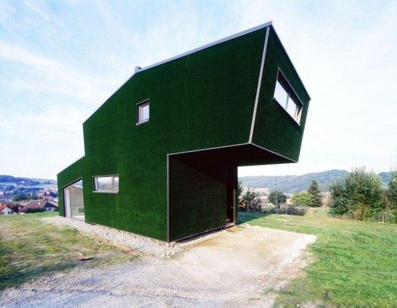 Maison contemporaine Amalia House par GRID Architects - Styria - facade de maison contemporaine