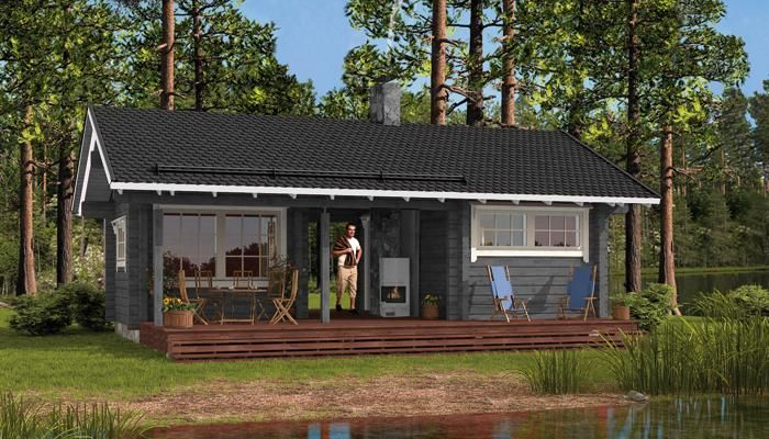 Mökit ja saunat   Honka Finland