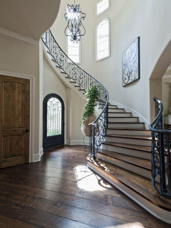 mediterranean stair design design pictures remodel decor and rh pinterest com