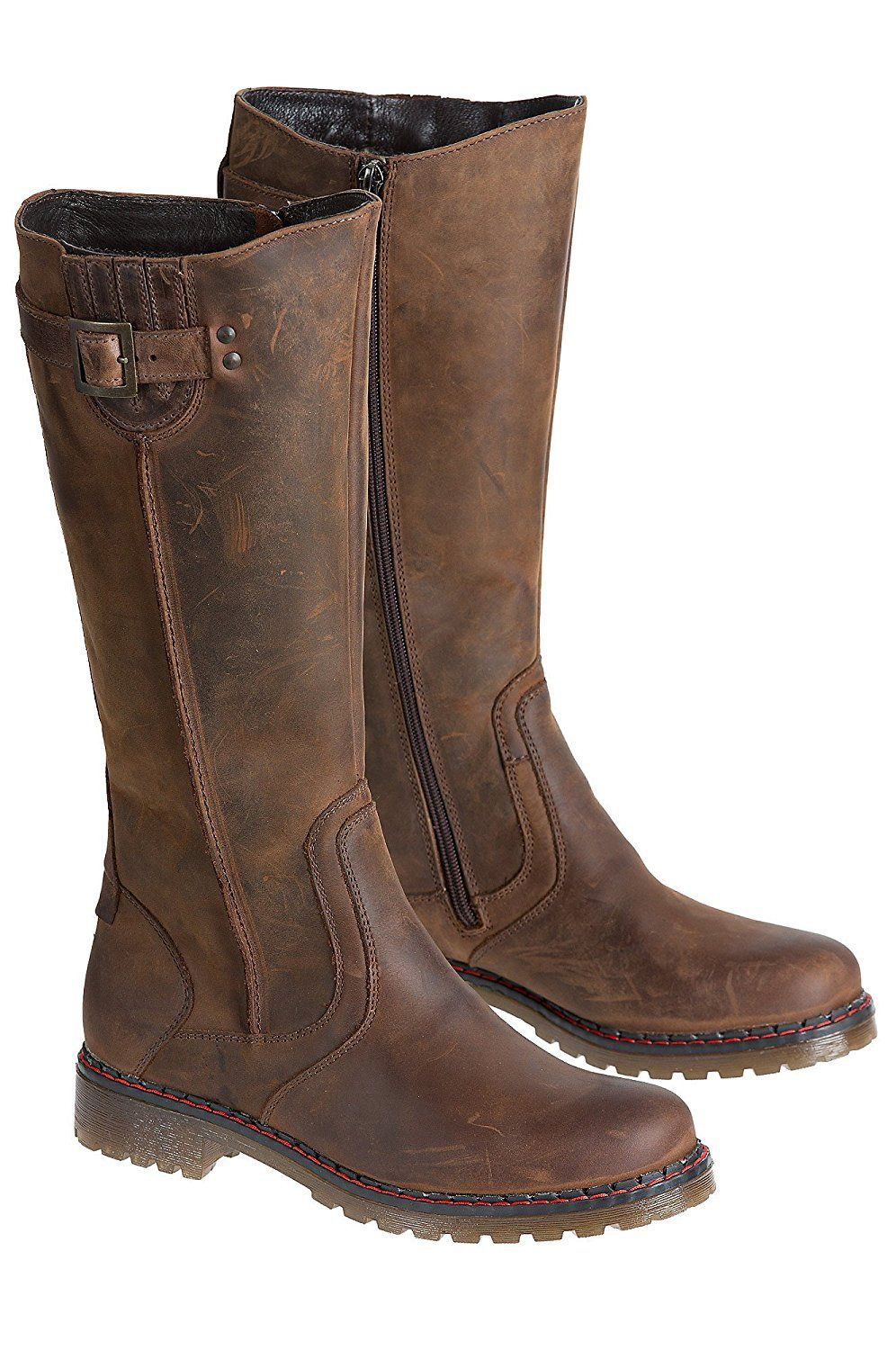 157a9e79bc3 Women's Overland Debra Wool-Lined Leather Boots *** See this great ...