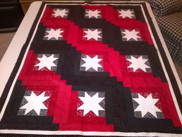dark color quilts   Need ideas for three color quilt - Page 3