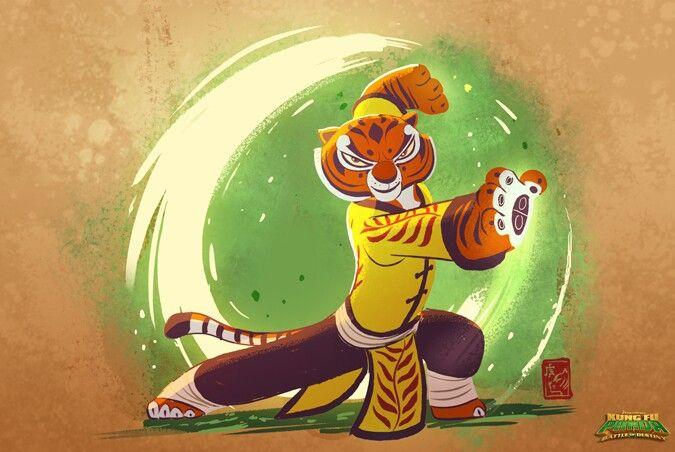 Pin by Vivi Cipher on Kung-fu Panda   Tigress kung fu