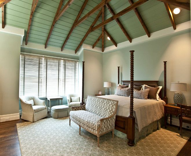 Green Paint Colors Sherwin Williams Restful And Benjamin Moore Silver Sage Bedroom Ceiling Color Is Wall