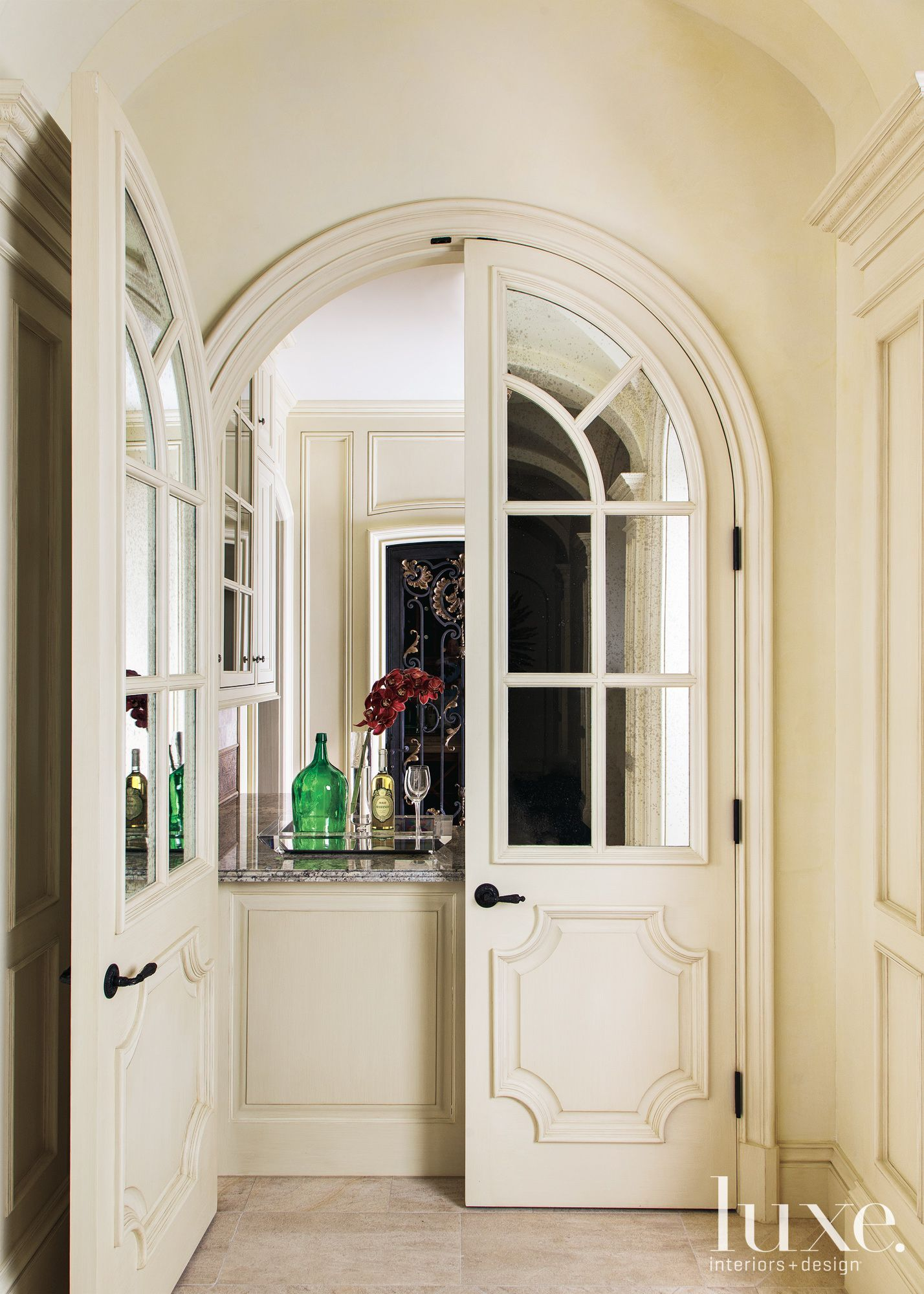 Stunning Doors LuxeDaily Design Insight From The Editors Of - Arched interior doorway design decoration
