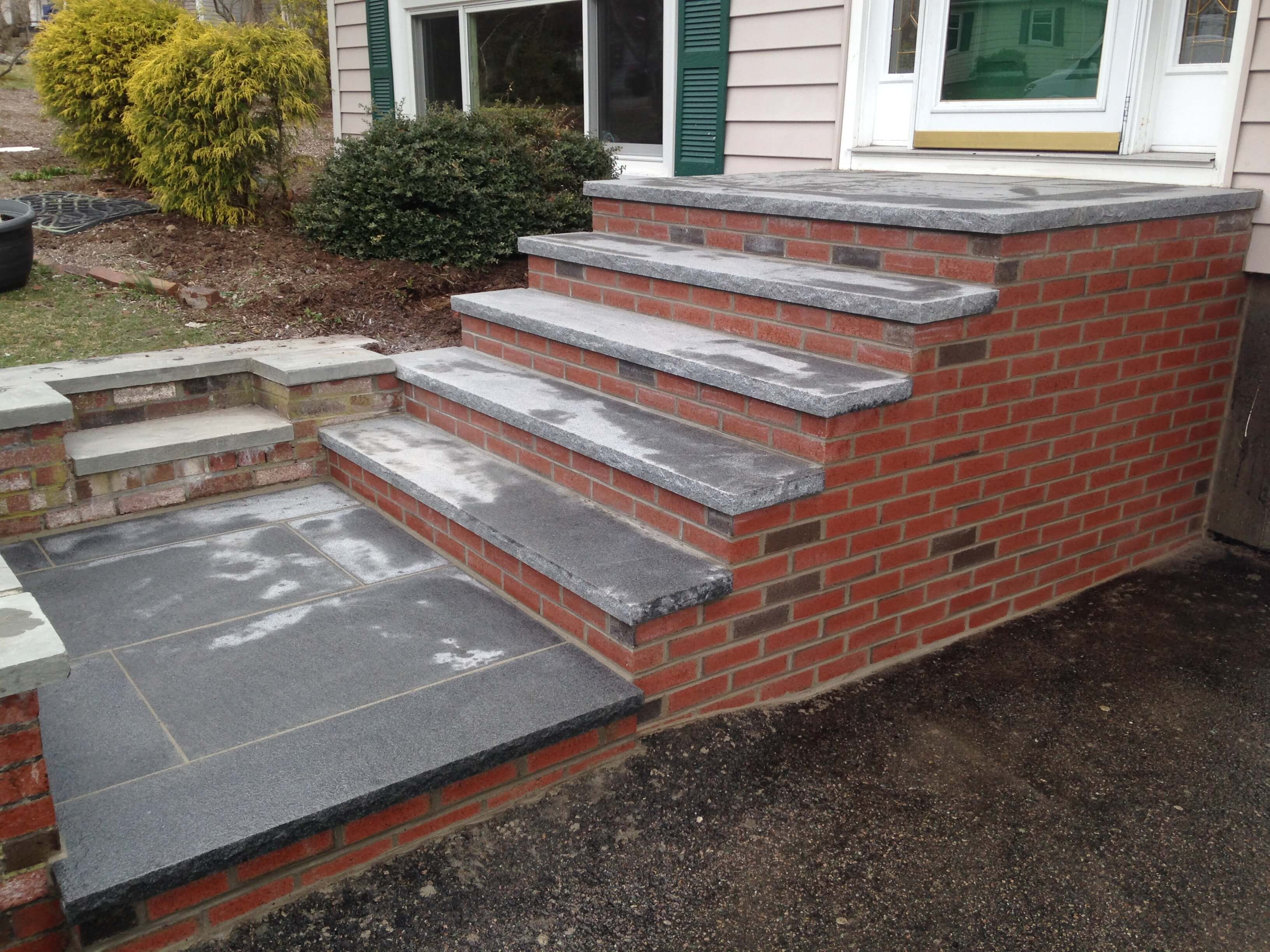 Best Staircases Brick Steps Flagstone Steps Staircase 400 x 300