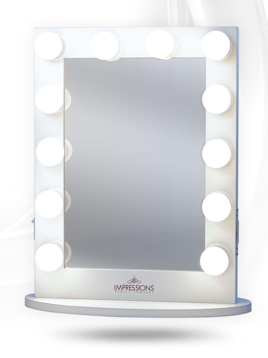 Impressions Vanity Hollywood Chic Xl Vanity Mirror White Vanity