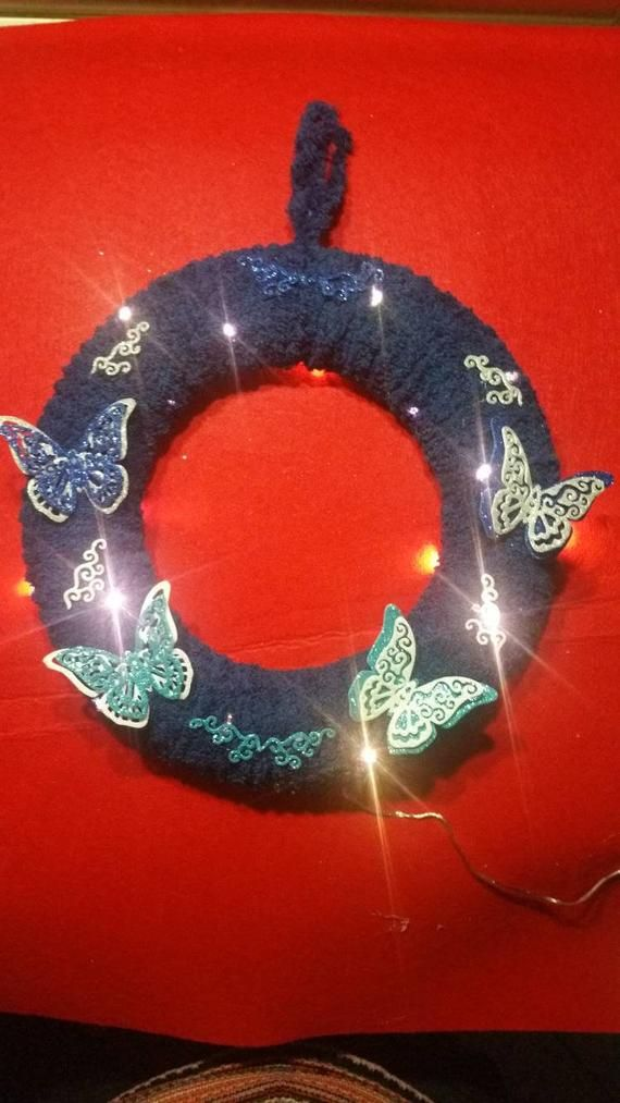 Photo of Butterfly effect, garland