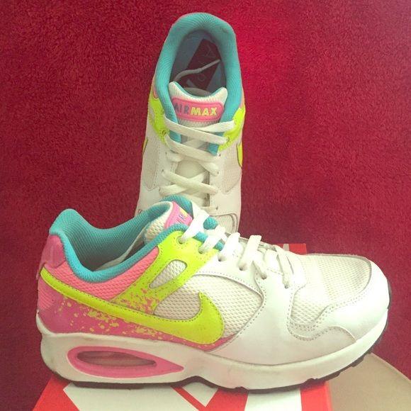 Nike Air max multi color pink/yellow